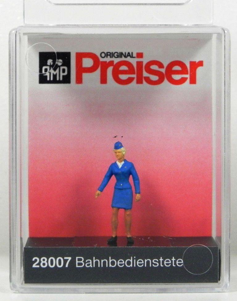 1//87 Preiser PERSONALE FERROVIARIO 87