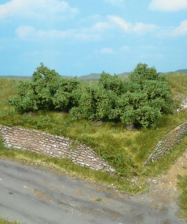 40 cadauno 1735 Heki Artline Confezione 8 cespugli e arbusti altezza mm