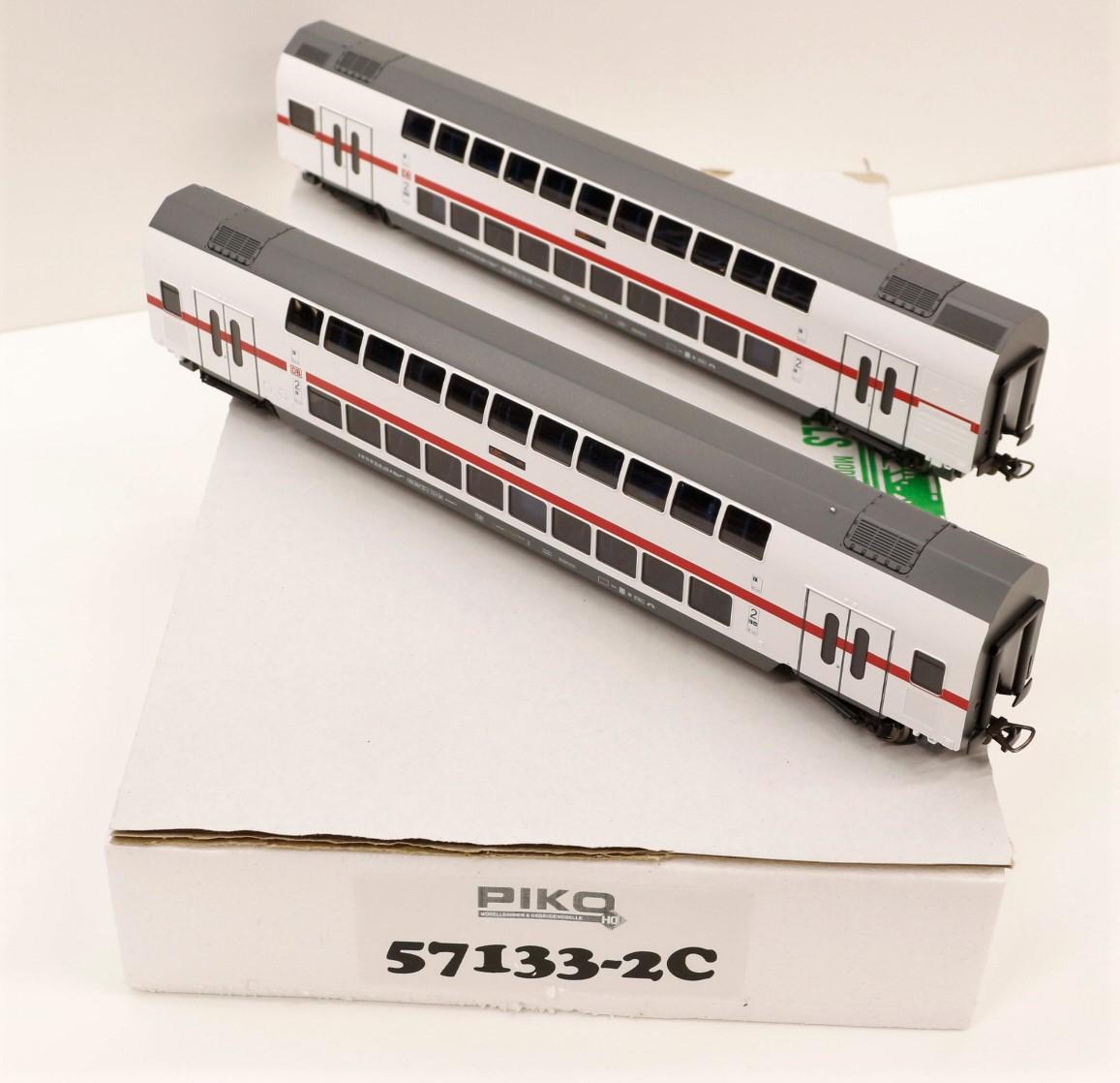 54909-7 Piko HO Carro cisterna DB a carrelli /'GATX/' ep.V-VI scala 1:87