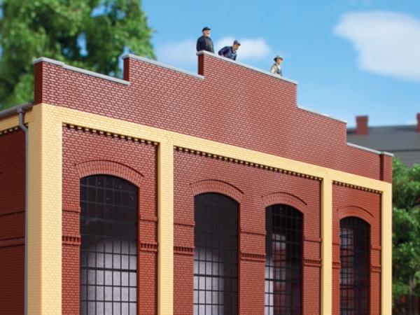 52425//2 AUHAGEN HO Tegole per tetti fabbricati vari conf 2 pezzi