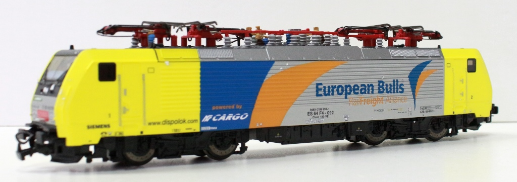 57458DS Piko HO Locomotiva FNM E89 cargo italia European Bull digitale sound