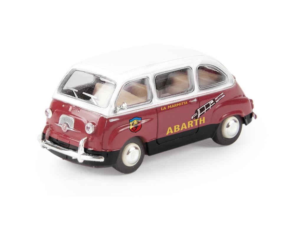 1//87 Brekina Fiat Multipla weiß//türkis 22471