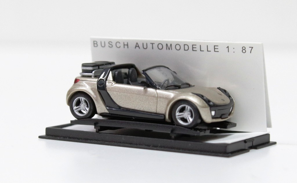 49302 Busch HO 1:87 Smart Roadster COLORI COME DA FOTO