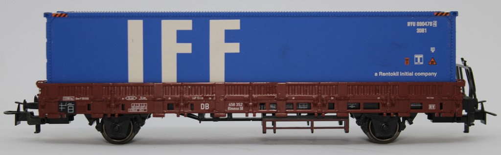 567DM MARKLIN HO CARRO con containers nuovo da start set senza scatola