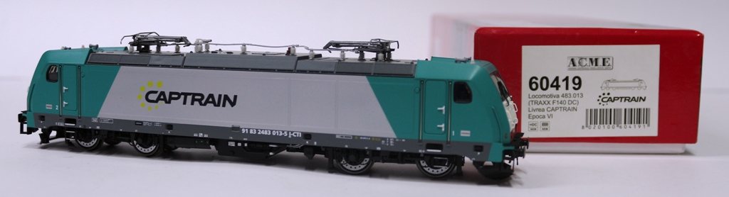 60419 Acme 483 013 Angel Trains / Captrain Italia verde/grigio, marcatura UIC