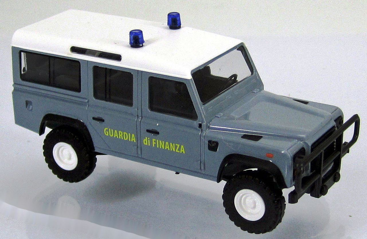 50389 Busch HO scala 1:87 Land Rover Defender Guardia di Finanza