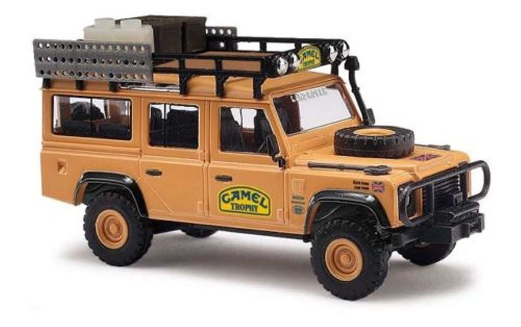 50367 Busch HO scala 1:87 Land Rover Defender Camel Trophy