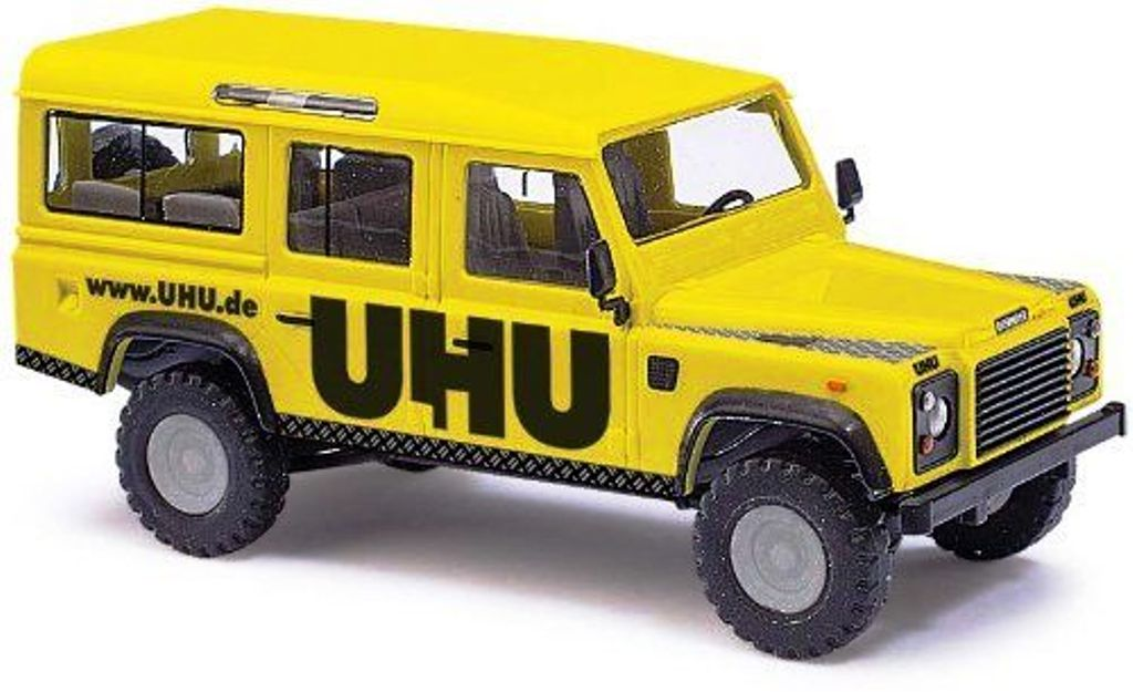 50306 Busch HO scala 1:87 Land Rover Defender collanti UHU