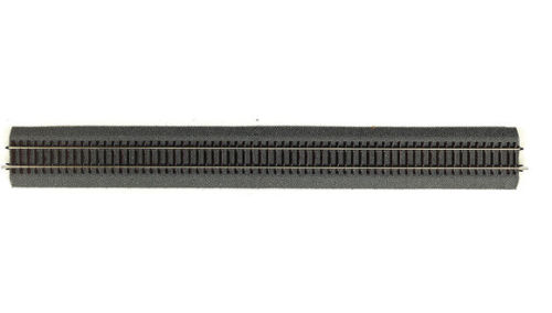 42506 Roco Binario dritto G4 mm 920 con massicciata e traverse in legno