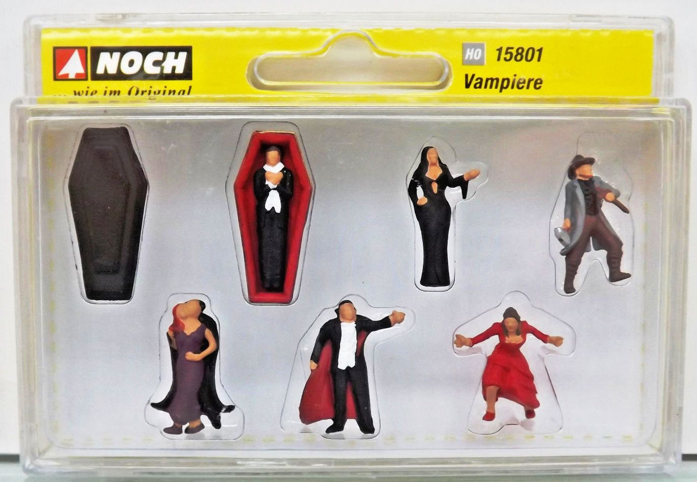15801 Noch HO Personaggi vampiri e accessori come da foto