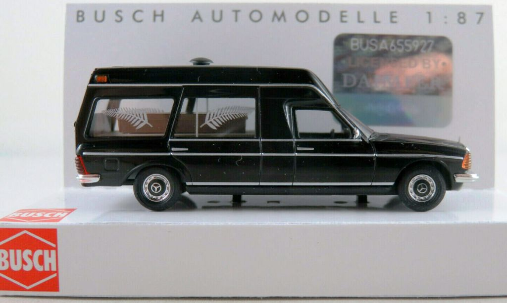 52203 Busch HO Mercedes-Benz VF 123 Carro Funebre scala 1:87