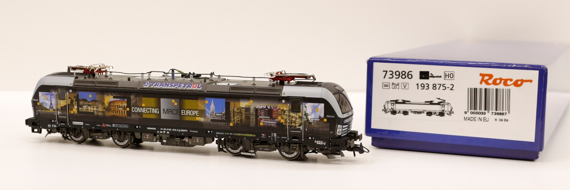 73986 Roco HO Locomotiva elettrica 193 MRCE Loc and More