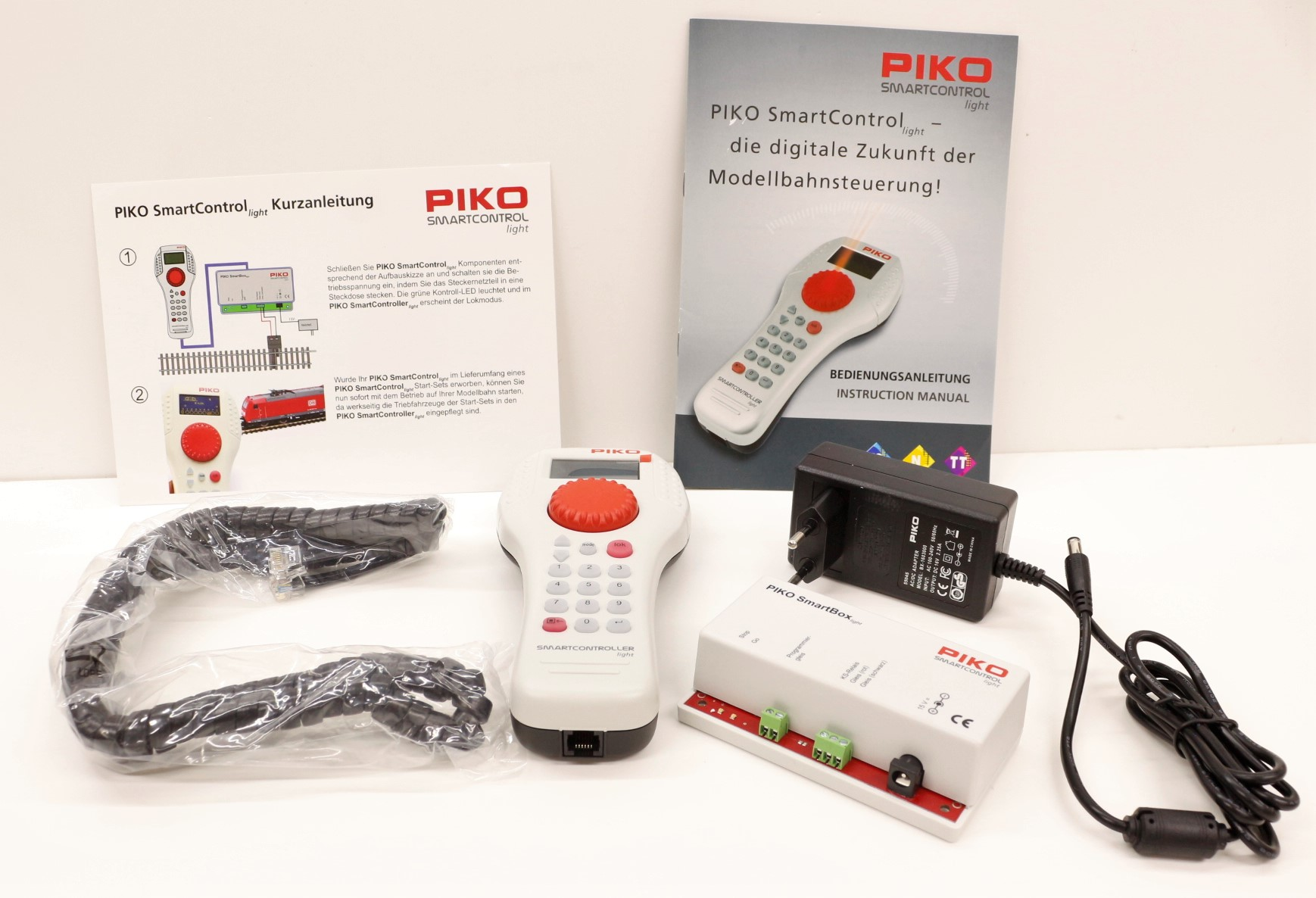 59002 PIko set digitale Smartcontrol Light con comando palmare e alimentatore