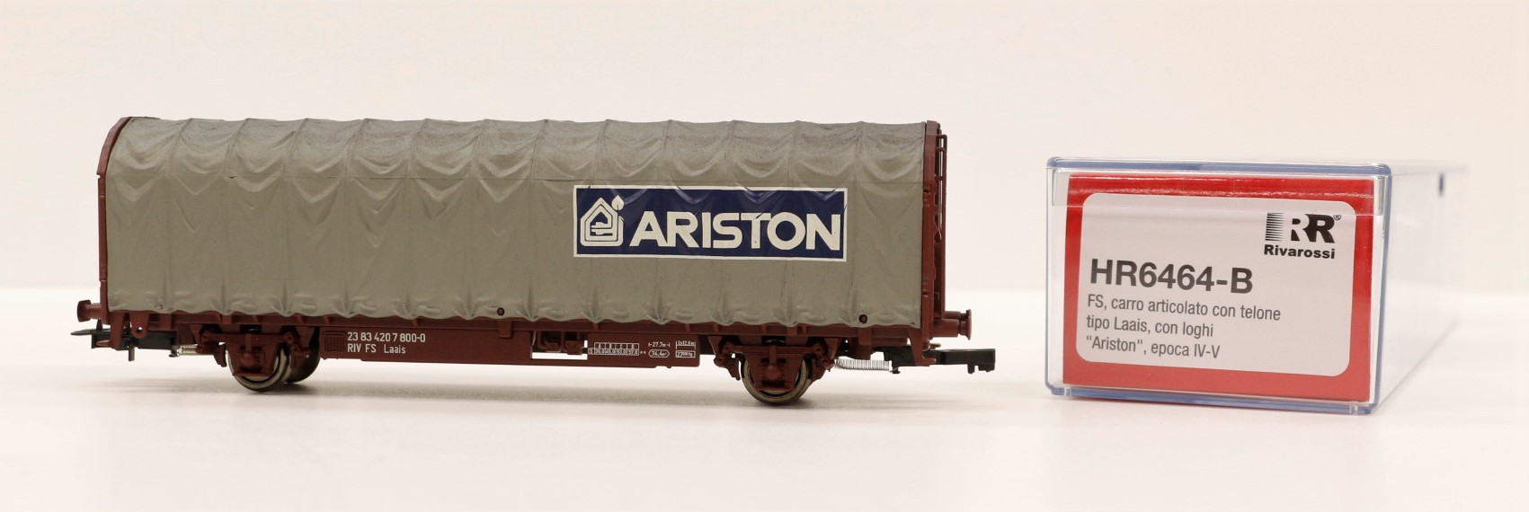 HR6464-B Rivarossi HO Carro FS telonato ARISTON ep. V-VI scala 1:87