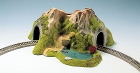 34660 NOCH SCALA N DIORAMA CON TUNNEL IN CURVA 1 BINARIO