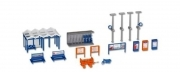 38108 Kibri HO 1:87 Set accessori stazione