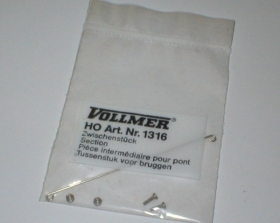 1316 Vollmer HO Kit elemento per catenaria  scala 1:87