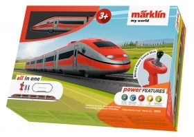 29334 Marklin HO My world Start Set completo Treno Rapido Italiano scala 1:87