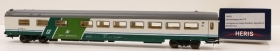 16020 Heris by Acme Carrozza Ristorante Self Service Trenitalia scala HO 1:87