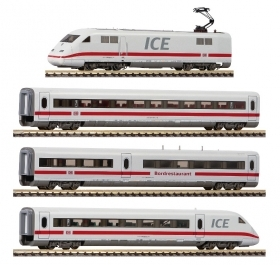 931884 Fleischmann scala N Convoglio 4 elementi ICE 2 digitale da start set