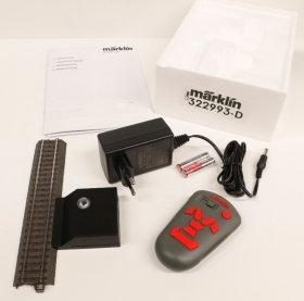 322993D Marklin set completo digitale con centralina IR wireless