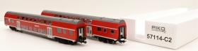 57150-C2 Piko HO Set 2 carrozze DB