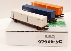97916-3C Piko HO Set 3 Carri d