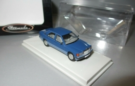 13202 Starmada by Brekina HO  Mercedes Benz 190 e w201 colore blu scala 1:87