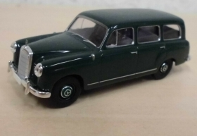 13453 Starmada by Brekina HO Mercedes Benz 180 Station Wagon verde scala 1:87