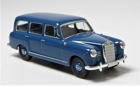 13451 Starmada by Brekina HO Mercedes Benz 180 Station Wagon azzurro scala 1:87