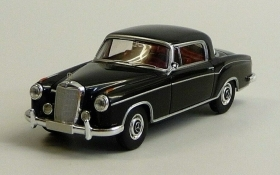13500 Starmada by Brekina HO Mercedes Benz 220 S Coupe Nero scala 1:87