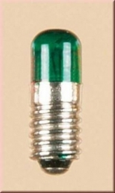 55752 AUHAGEN 5 LAMPADE VERDE SP. 5,5 MM. 12 V. 0.05 AM