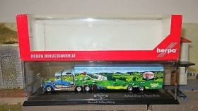 120739  Herpa HO 1:87 Camion con bilico Kenwort Foerstina stile USA s. special